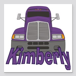 "kimberly-g-trucker Square Car Magnet 3"" x 3"""