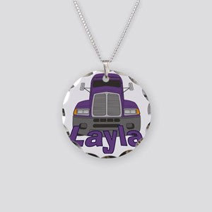 layla-g-trucker Necklace Circle Charm