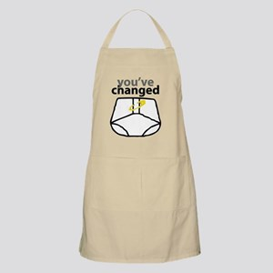 Youve Changed Diaper for Light Apron