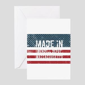 Made in Wendell Depot, Massachusett Greeting Cards
