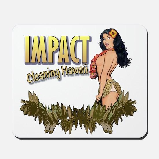 Impact Cleaning Hawaii Hula Girl Mousepad