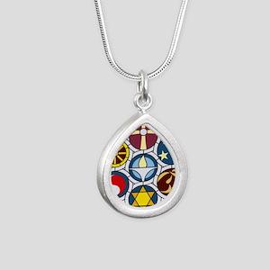 The Unitarian Universali Silver Teardrop Necklace