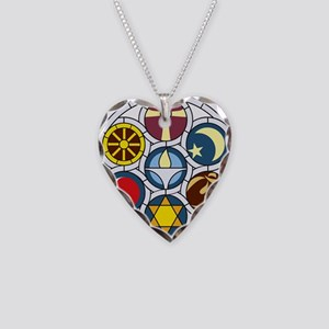 The Unitarian Universalist Ch Necklace Heart Charm