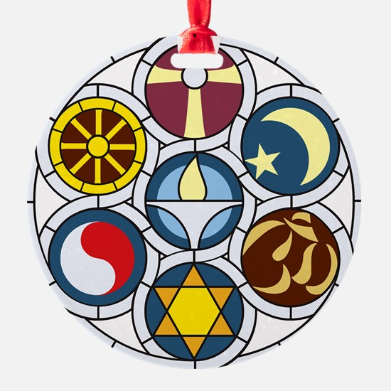 The Unitarian Universalist Church R Ornament