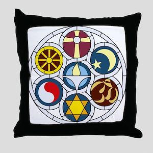 The Unitarian Universalist Church Roc Throw Pillow