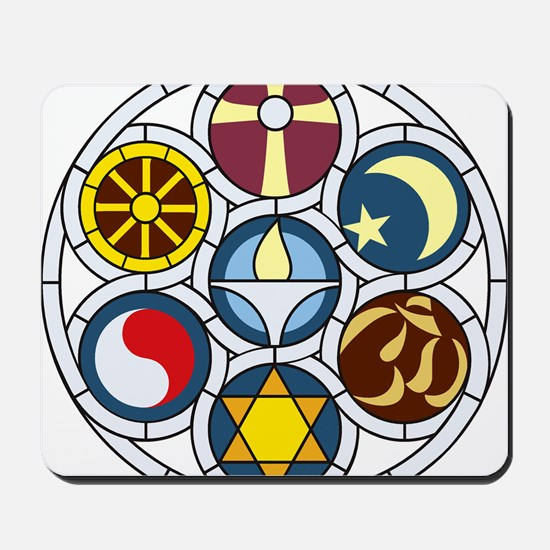 The Unitarian Universalist Church Rockfo Mousepad