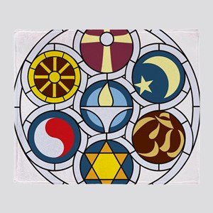 The Unitarian Universalist Church Ro Throw Blanket