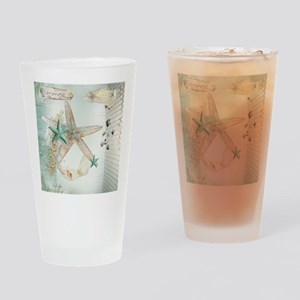 Summer  Sea Treasures Drinking Glass