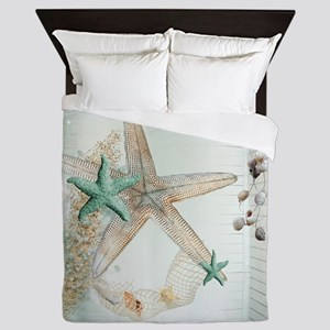 Summer  Sea Treasures Queen Duvet