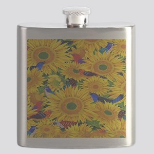 Sunflower Flask