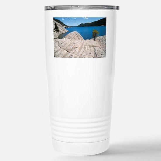 lake9x2 Stainless Steel Travel Mug