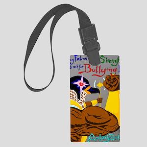 King Falcon Anti-Bullying Large Luggage Tag
