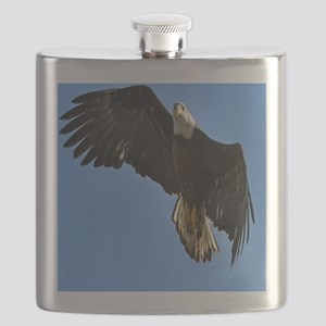 Majestic Bald Eagle Flask