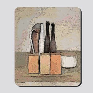 wine and Cheese Still Life Mousepad