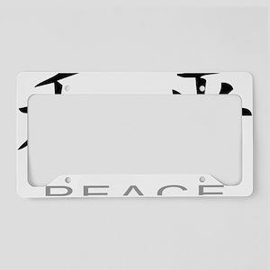 PeaceLightC License Plate Holder