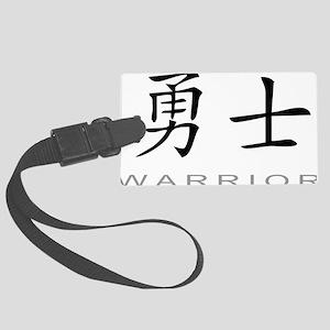 warriorlightc Large Luggage Tag