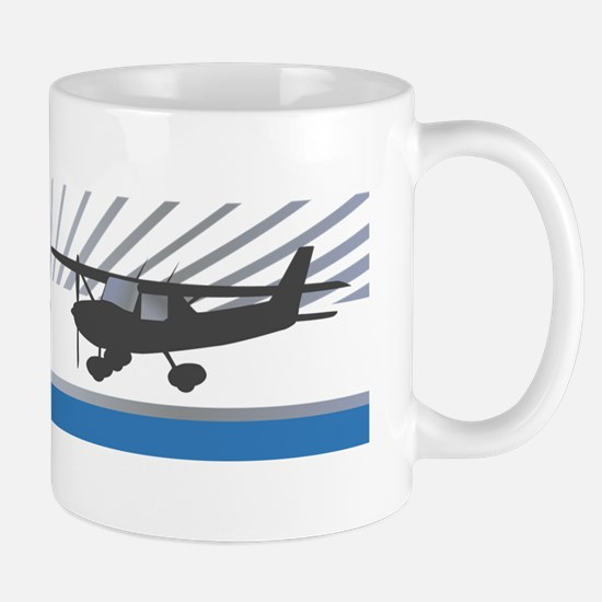 RC Flyer Hign Wing Airplane Mug