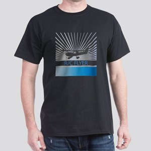 RC Flyer Hign Wing Airplane Dark T-Shirt