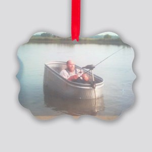 Hillybilly bass boat 2 Picture Ornament