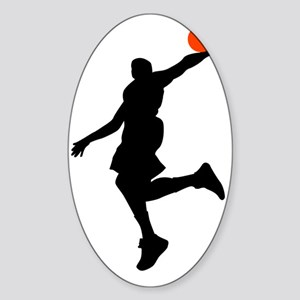 Slam Dunk Sticker (Oval)