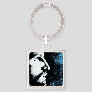 Forgiven Jesus Christ Square Keychain