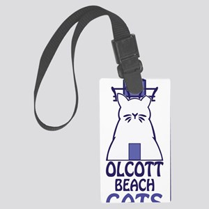 Olcott Cats Vertical Large Luggage Tag