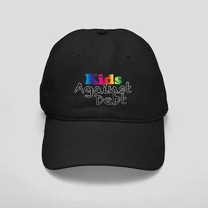 Kids Against Debt Rainbow Black Cap