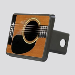 Old, Acoustic Guitar Rectangular Hitch Cover