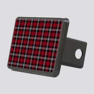 Vintage, Red Plaid, Rectangular Hitch Cover