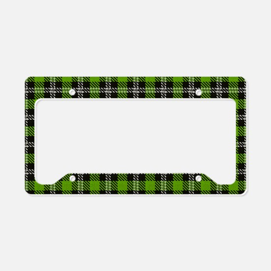 Celtic, Green Plaid, License Plate Holder