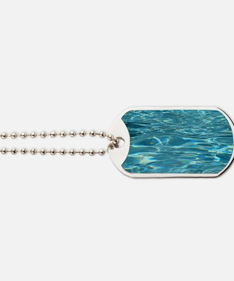 Crystal Clear Water Dog Tags