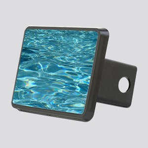 Crystal Clear Water Rectangular Hitch Cover