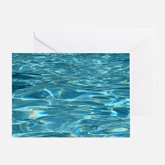 Crystal Clear Water Greeting Card