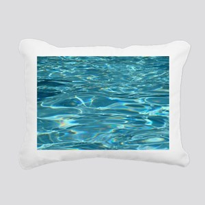 Crystal Clear Water Rectangular Canvas Pillow