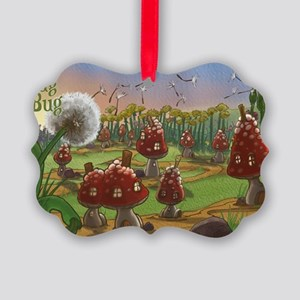 Bugalou Village Picture Ornament