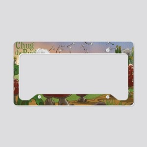 Bugalou Village License Plate Holder