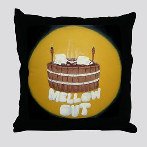 Mellow Out Throw Pillow