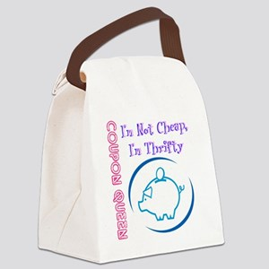 Coupon Queen Canvas Lunch Bag