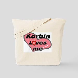 korbin loves me Tote Bag