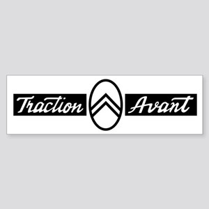 Citroën Traction Avant script emb Sticker (Bumper)