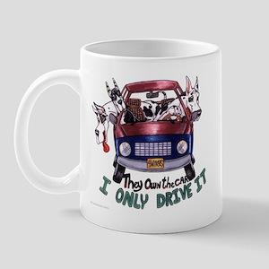 CMtl CH They own the car Mug