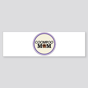 Cockapoo Dog Mom Bumper Sticker