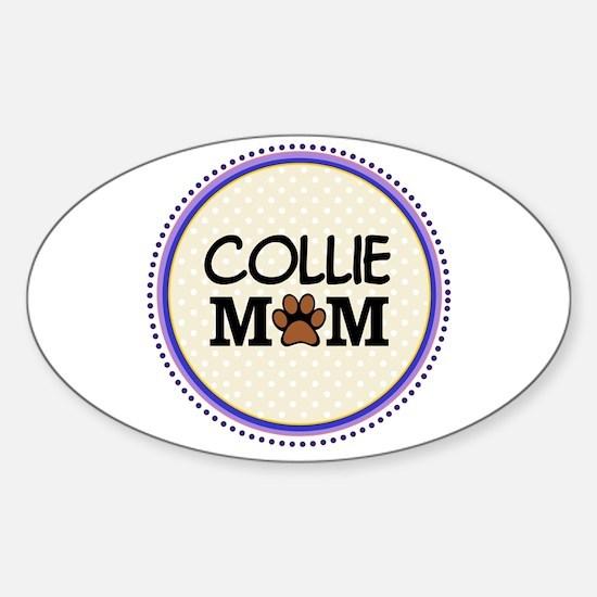 Collie Dog Mom Decal