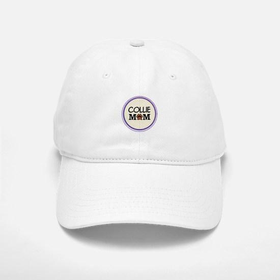 Collie Dog Mom Baseball Baseball Cap