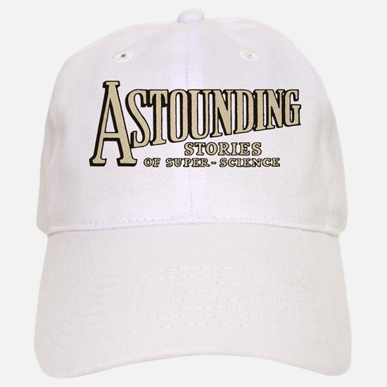 Astounding Stories pulp logo Baseball Baseball Cap