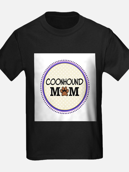 Coonhound Dog Mom T-Shirt
