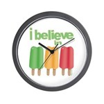 I believe in Ices! Wall Clock