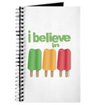 I believe in Ices! Journal