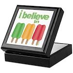 I believe in Ices! Keepsake Box