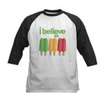 I believe in Ices! Kids Baseball Jersey